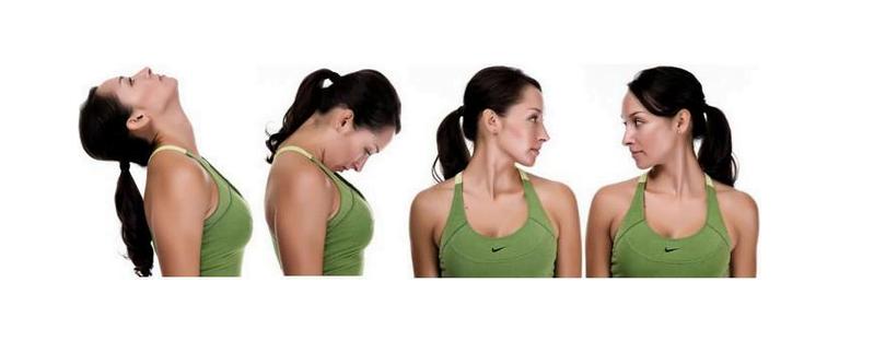 pescoço exercicios